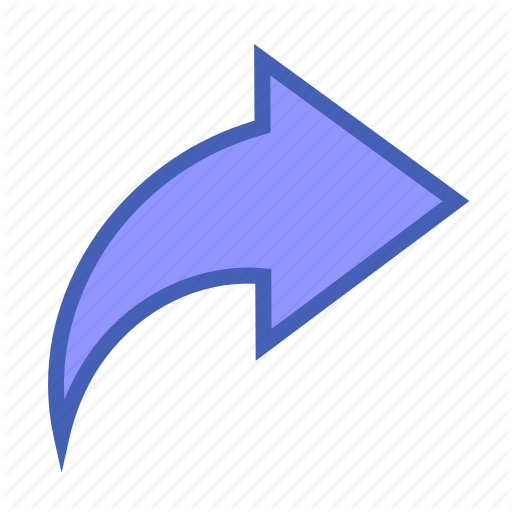 Arrow, Facebook, Share Icon