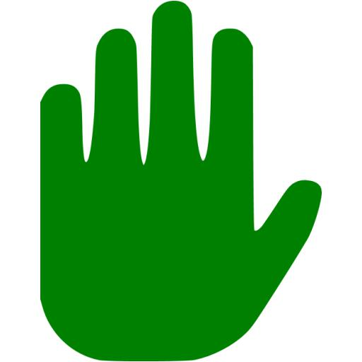 Green Stop Icon