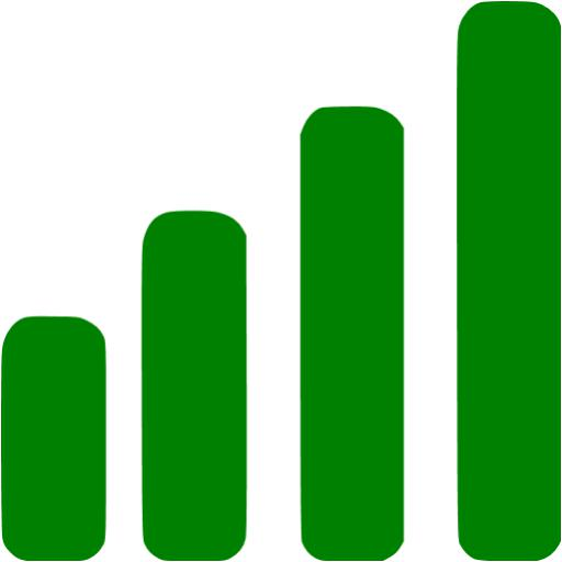 Green Icon With Bars Images
