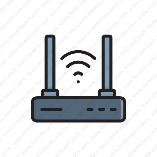 Download Network,signal,antenna,internet,wireless Icon Inventicons