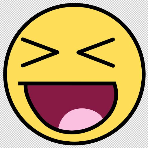 Awesome Face Awesome Face Awesome Smiley Funny Humor Icon Smiley