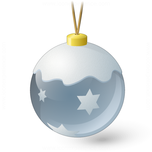 Iconexperience V Collection Christmas Ball Silver Icon