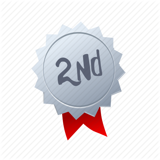 Award, Game, Medal, Podium, Second, Silver, Winner Icon