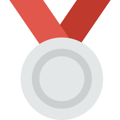 Silver Medal Png Icon