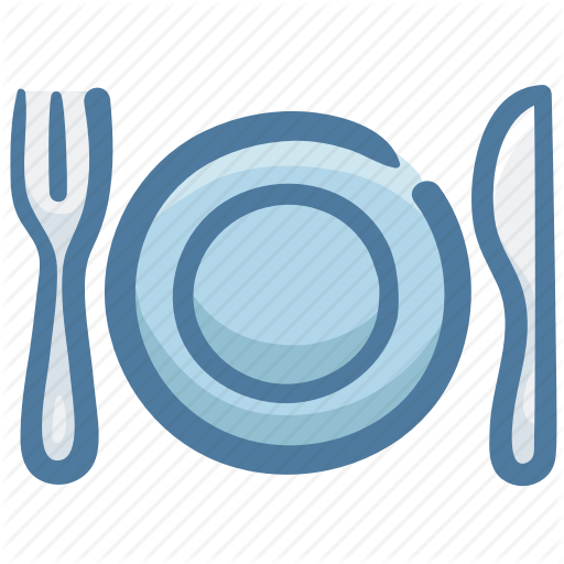 Dish, Food, Fork, Knife, Restaurant, Silverware Icon
