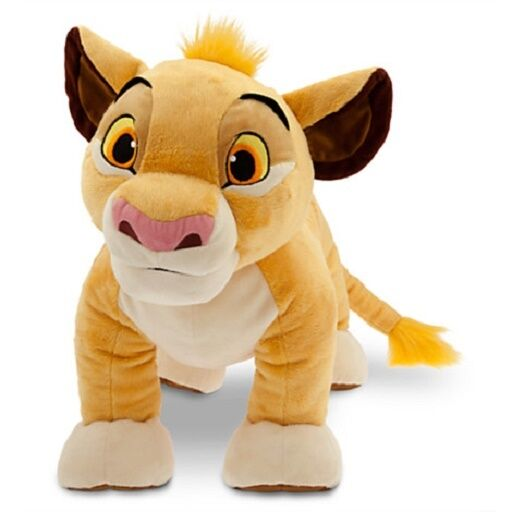 Large Deluxe Simba Plush The Lion King Nwt Disney