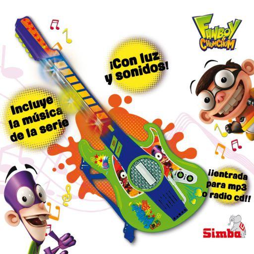 Simba Fan Boy Chum Chum Guitar