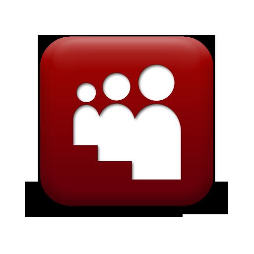 Simple Red Square Icon Social Media Logos Myspace Logo