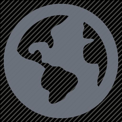 Earth, Globe, Pika, Planet, Simple, World Icon