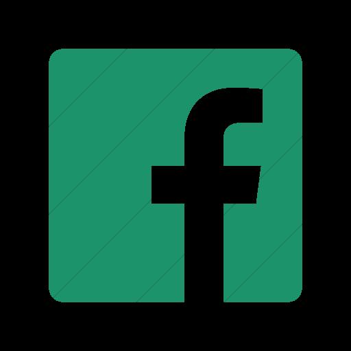 Simple Aqua Foundation Social Facebook Icon