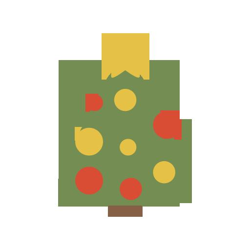 Christmas Tree Icon Simple Christmas Iconset G Pritiranjan Das