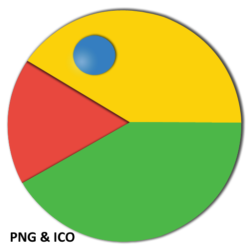 Google Chrome Pac Man Icon