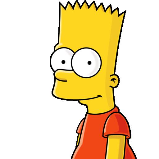Bart, Simpson Icon
