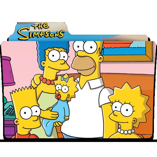 The Simpsons Folder Icon