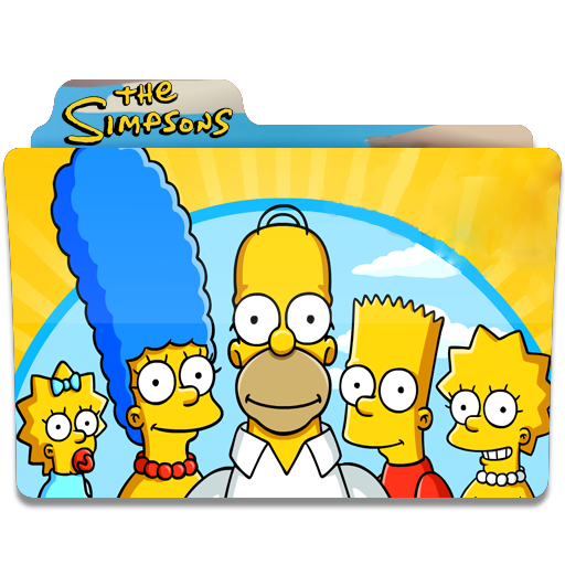 The Simpsons, Family, Happy, Folder, Folders Icon Free Of Simpsons