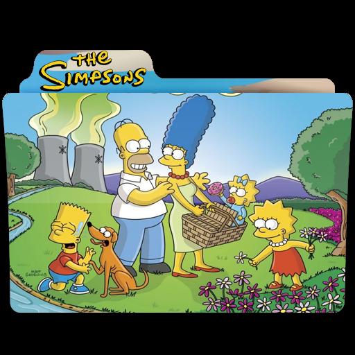 The Simpsons, Folder, Folders, Springfield Icon Free Of Simpsons