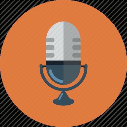 Mic, Microphone, Rec, Recording, Singing Icon