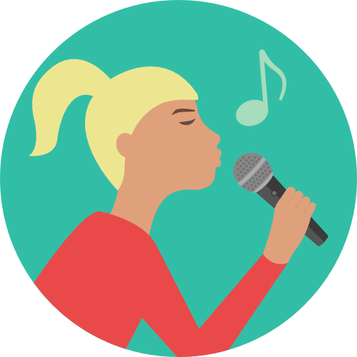 Music, Concert, Music And Multimedia, People, Woman, Girl, Singer Icon
