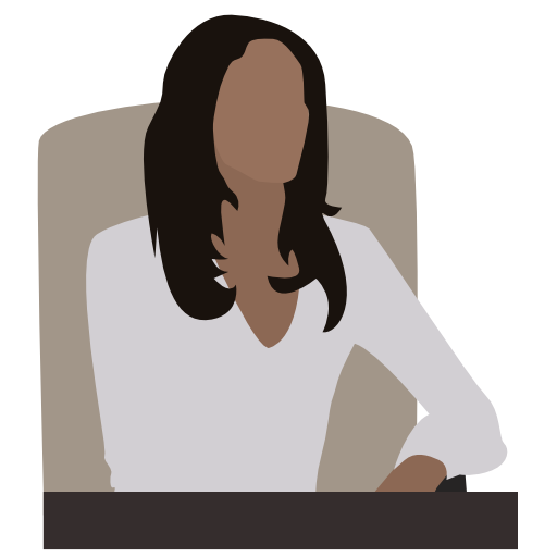 Person, Business, People, Executive, Woman, Black Icon Free