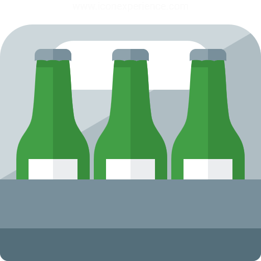 Iconexperience G Collection Sixpack Beer Icon