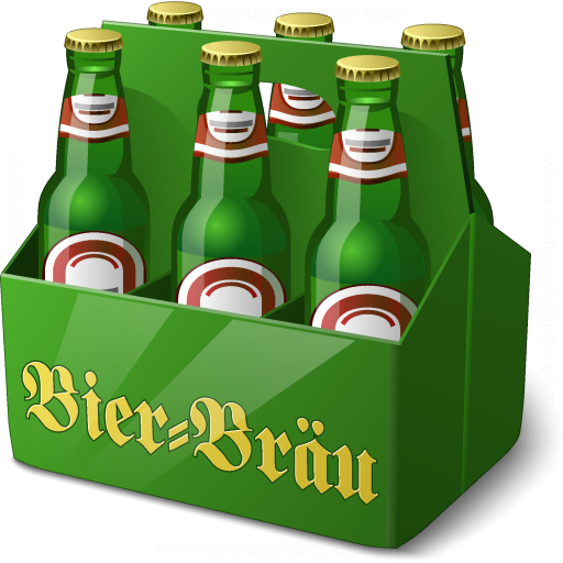 Iconexperience V Collection Sixpack Beer Icon