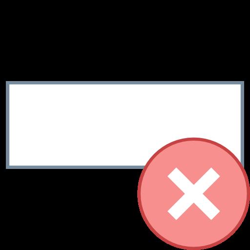 Delete Row Icon