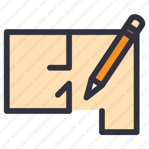 Download Blueprint,draft,sketch Icon Inventicons