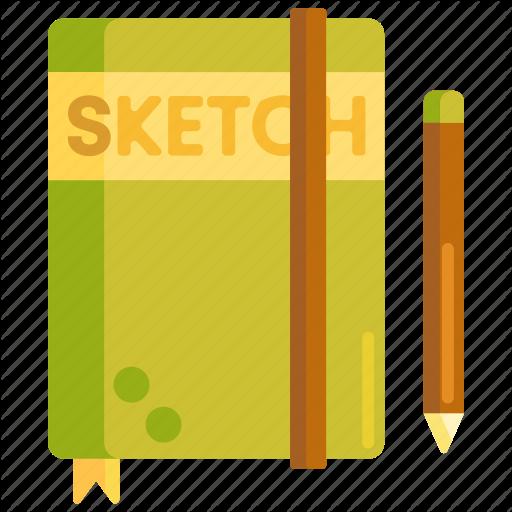 Book, Sketch, Sketch Book, Sketchbook Icon