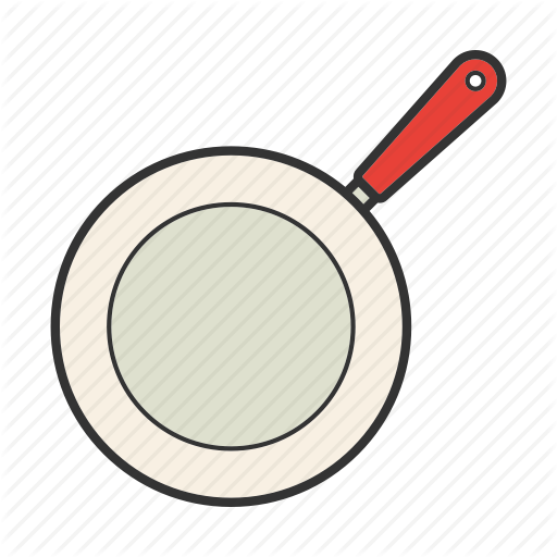 Frying Pan, Pan Fry, Saute, Skillet, Teflon Icon