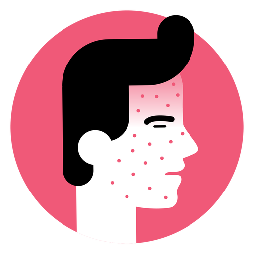 Skin Rash Sickness Symptom Icon