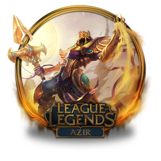 Azir Icon Free Of League Of Legends Gold Border Icons