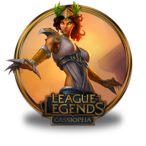 Cassiopeia Icon League Of Legends Gold Border Iconset