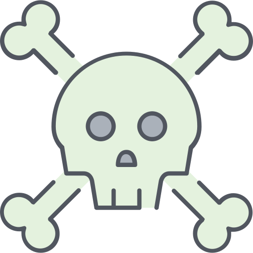 Skull And Bones Poison Png Icon