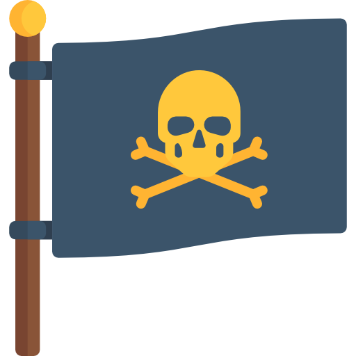 Piracy, Message In A Bottle, Paper, Pirate, Note Icon