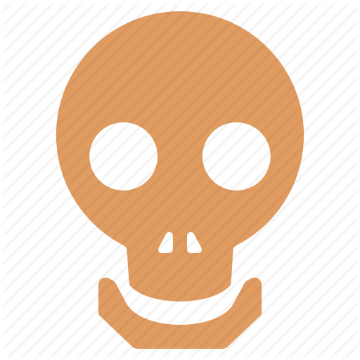 Skull Icon Small Flat Iconset