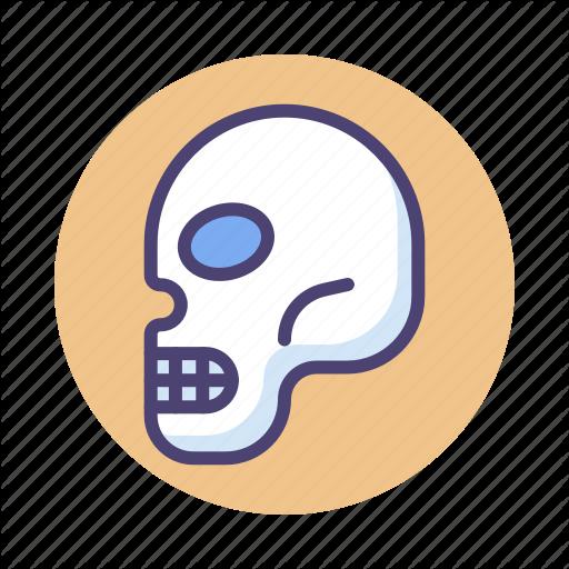 Head, Skeleton, Skull Icon