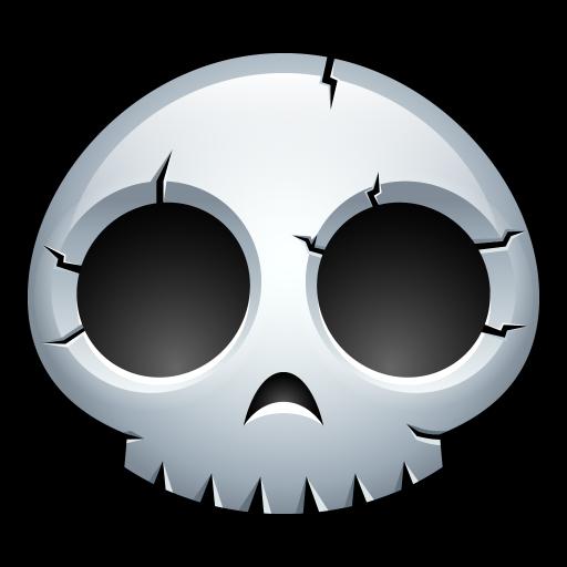 Skull Icon Halloween Avatar Iconset Hopstarter