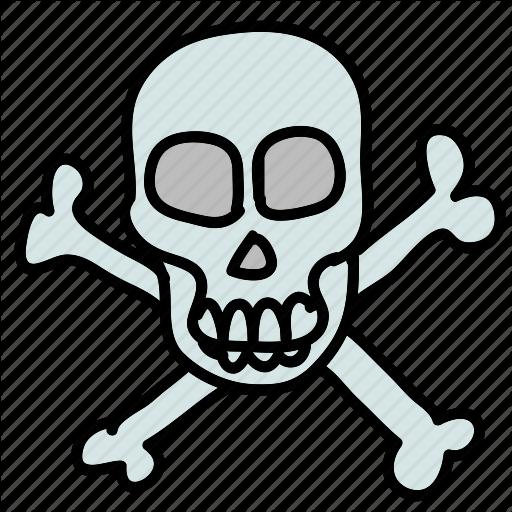 Bones, Dangerous, Deadly, Eco, Lethal, Nature, Skull Icon