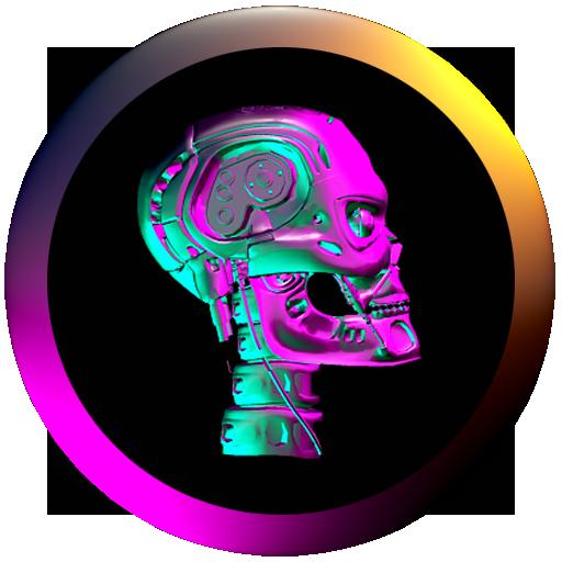 Download Cyberpunk Neon Icon Pack Mod Apk Latest Version