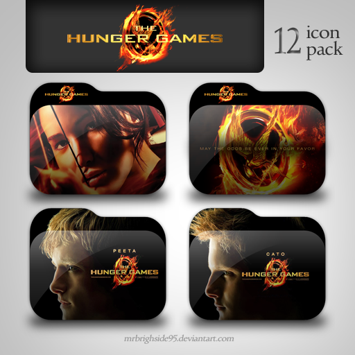 The Hunger Games Folder Icon Pack