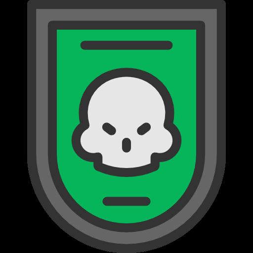 War, Military, Miscellaneous, Badge, Skull Icon
