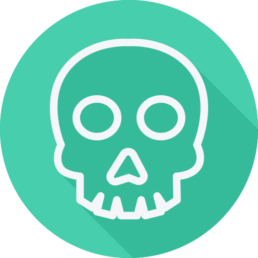 Skull Dead Png Icon