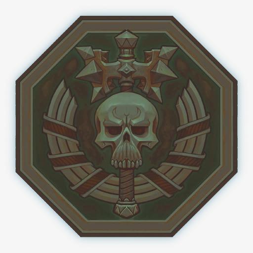 Decorative Retro Icon, Skull, Shield, Retro Png