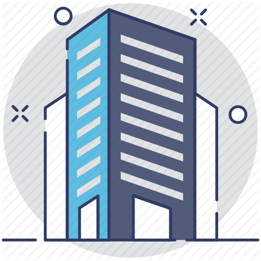 Building, Commercial, Office, Real Estate, Skyline Icon