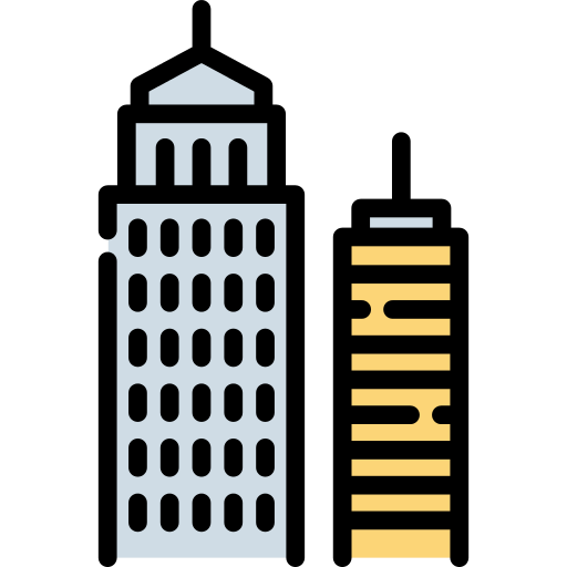 Skyline Building Png Icon