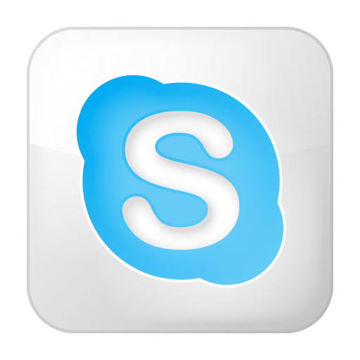 Social Skype Box White Icon Social Bookmark Iconset Yootheme