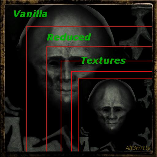 Vanilla Reduced Textures