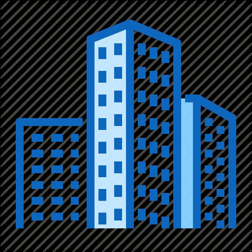 Building, Estate, Office, Real, Skyscraper Icon