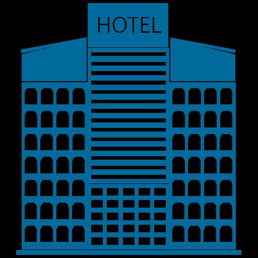 Building, Hotel, Tower, Skyscraper Icon