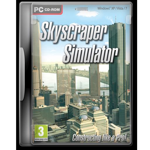 Skyscraper Simulator Icon Game Cover Iconset Jeno Cyber